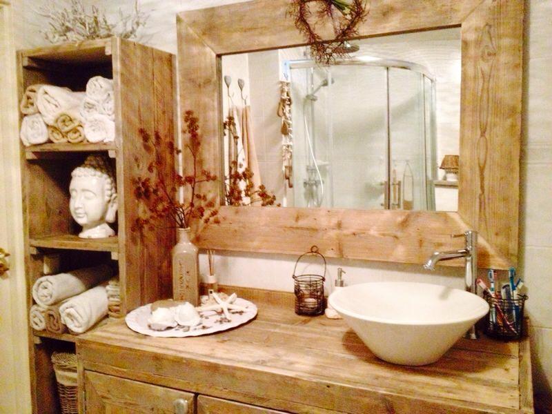 Badkamer Met Steigerhout : Badkamer kachel hangend best best badkamer steigerhout en eiken